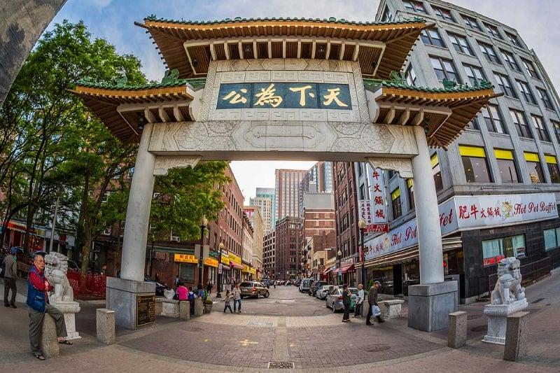 Chinatown em Boston