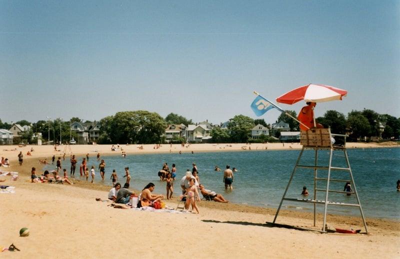 Praia Castle Island em Boston