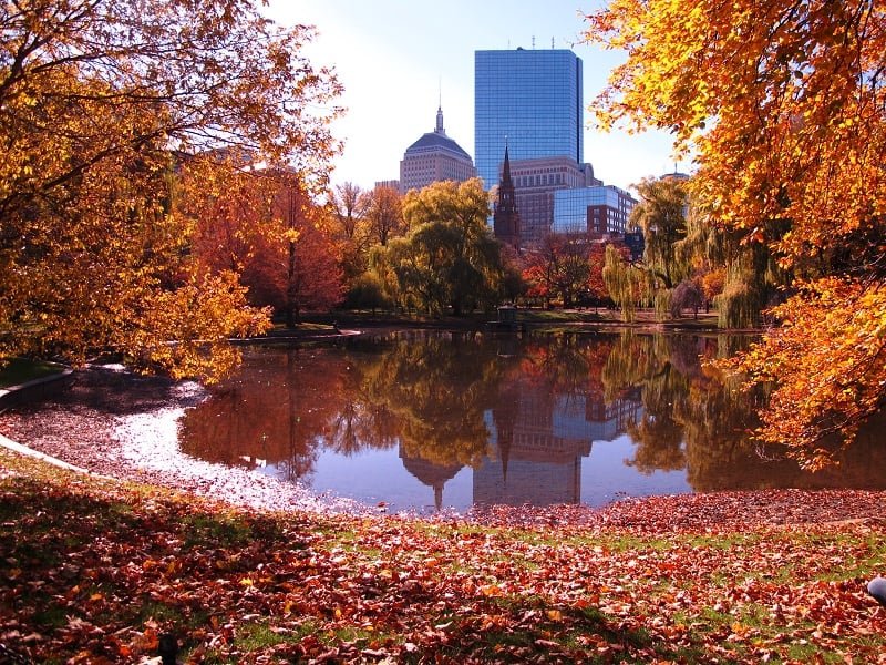Outono em Boston