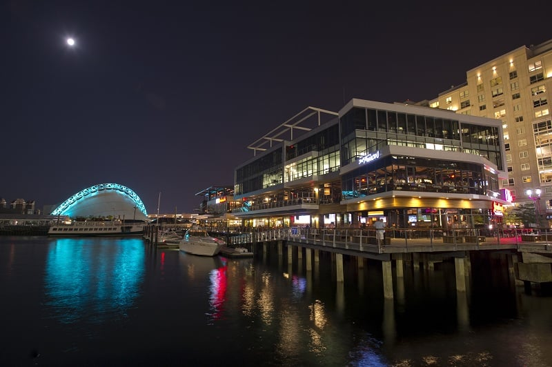 Seaport District em Boston