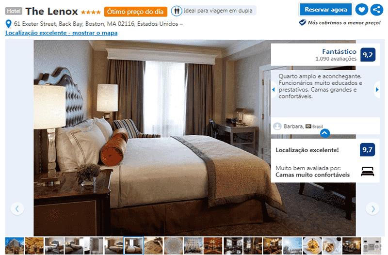 Hotel Lenox em Boston