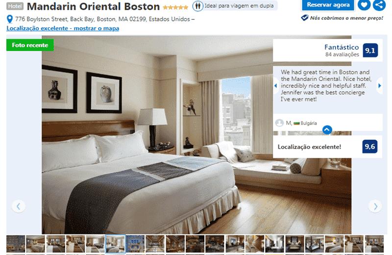 Hotel Mandarin Oriental em Boston
