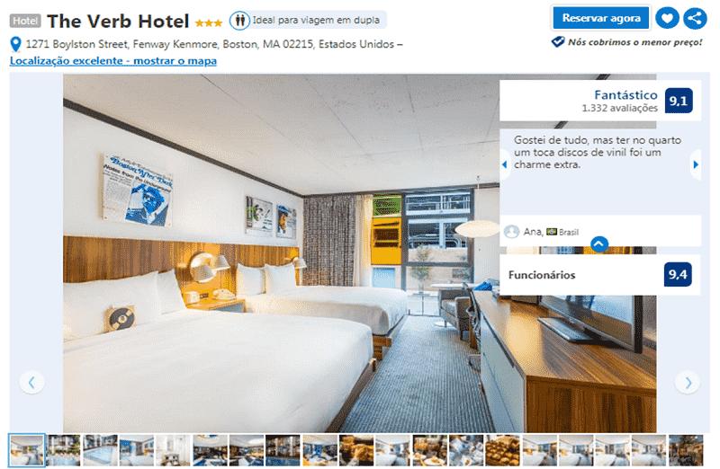 The Verb Hotel em Boston