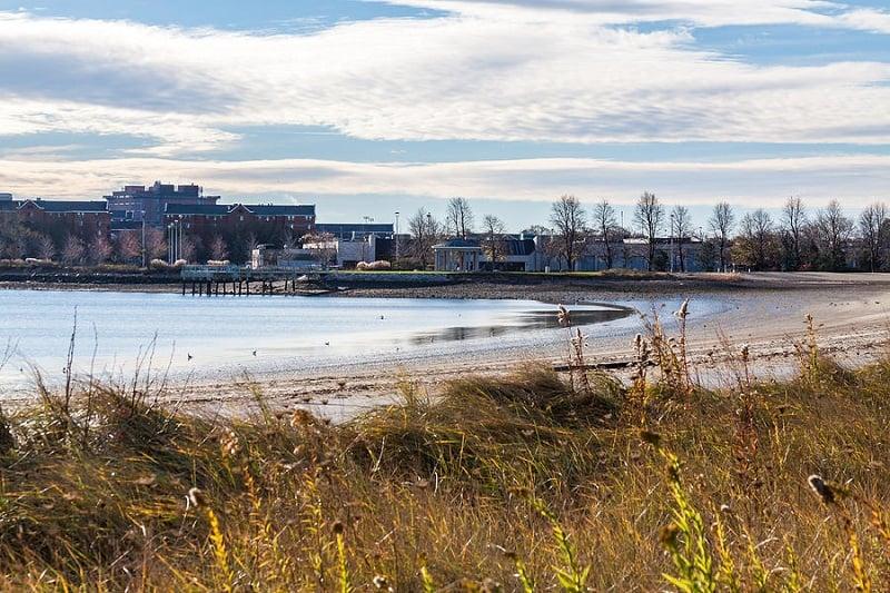 Praia Carson Beach em Boston