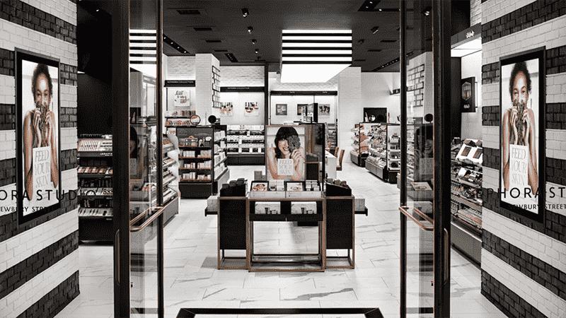 Lojas Sephora em Boston