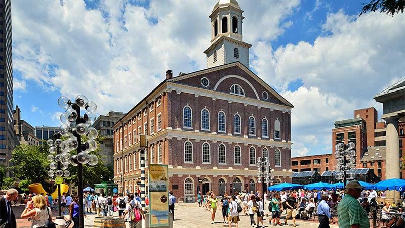 Andar a pé em Boston
