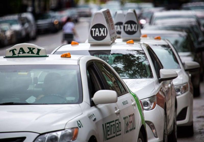 Táxis e aplicativos em Boston