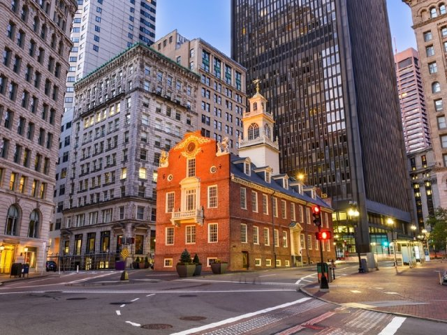 Old State House em Boston
