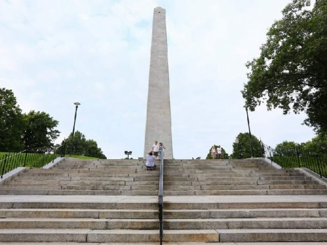 Bunker Hill Monument em Boston