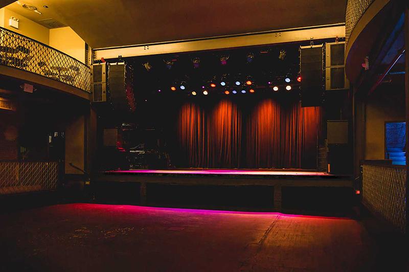 Balada Music Hall of Williamsburg em Nova York