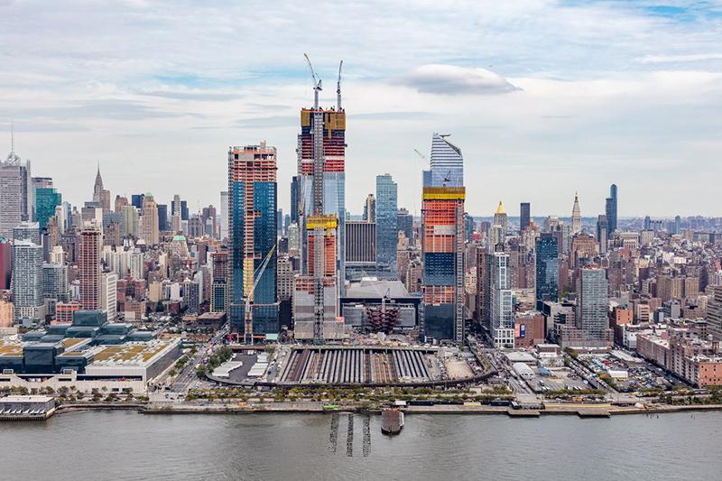 Prédios do Hudson Yards em Nova York