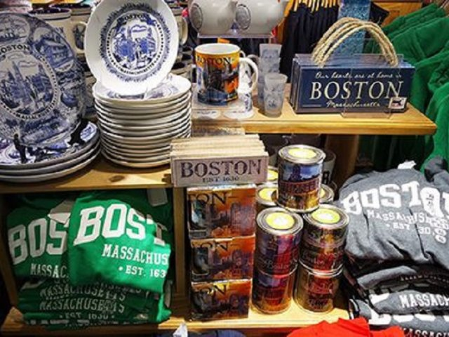 Onde comprar lembrancinhas e souvenirs em Boston
