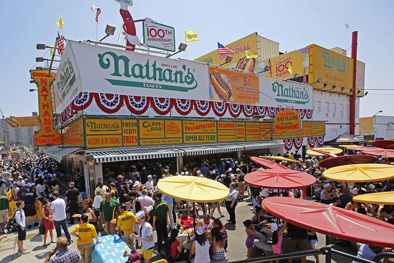 Gastronomia em Coney Island e Brighton Beach