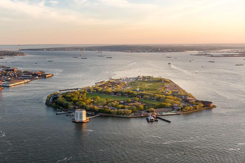 Como chegar na Governors Island em Nova York
