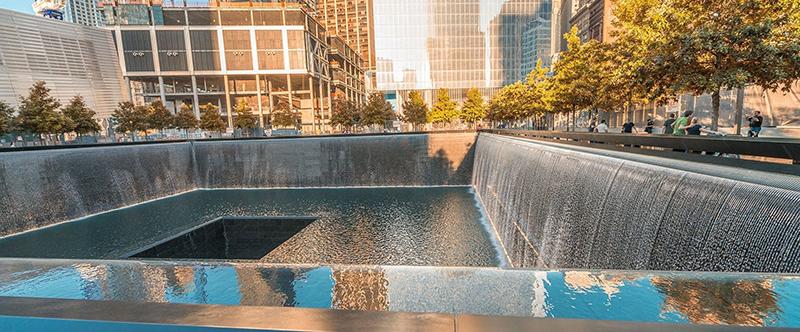 Fonte do Memorial de 11 de Setembro em Nova York