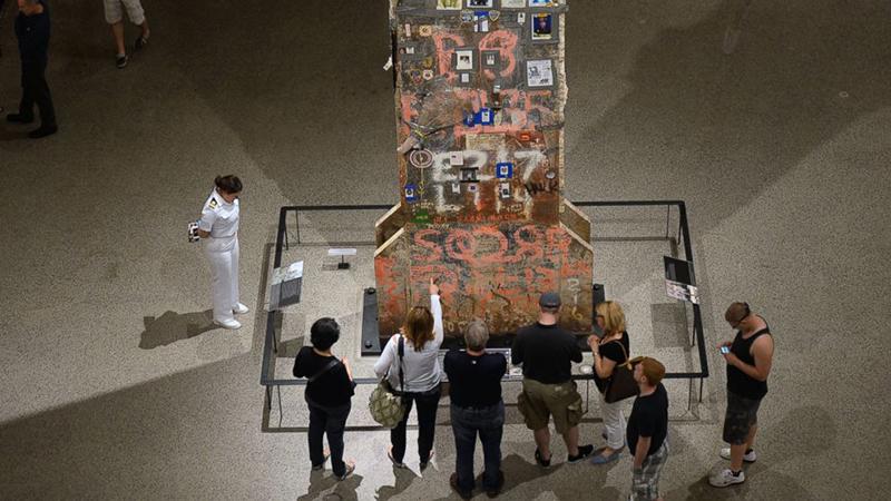 Visita ao Memorial de 11 de Setembro em Nova York