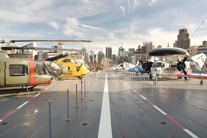 Ingressos para o Museu Intrepid Sea, Air & Space em Nova York