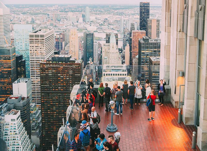 Top of the Rock: Observatório do Rockefeller Center em Nova York