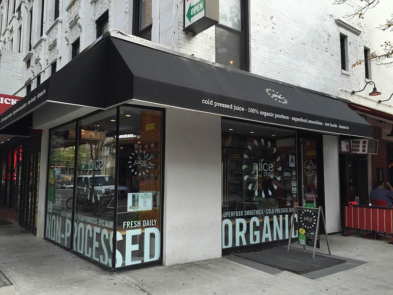 Juice Press em Nova York
