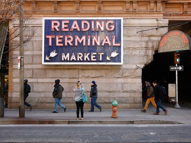 Mercado Reading Terminal Market na Filadélfia
