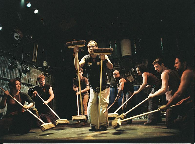 Musical Stomp em Nova York