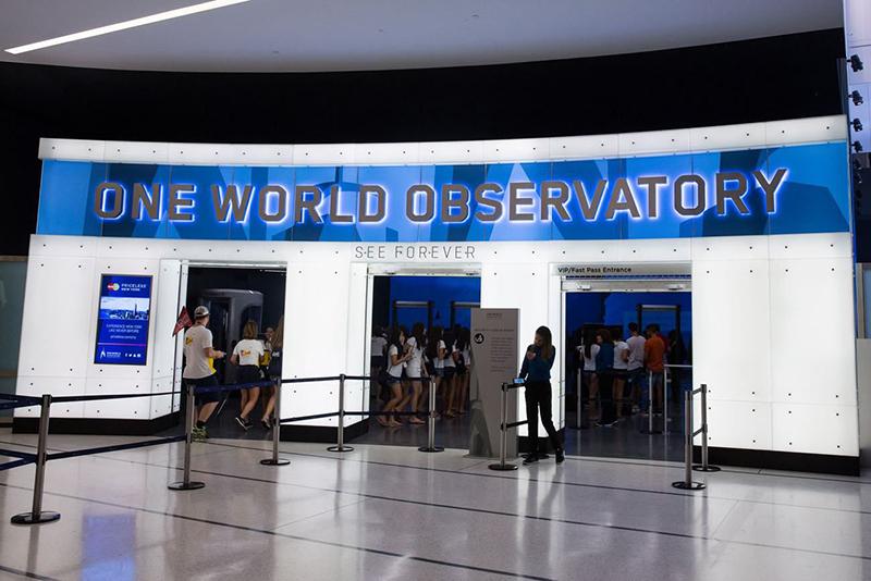 See Forever Theater no Observatório One World em Nova York