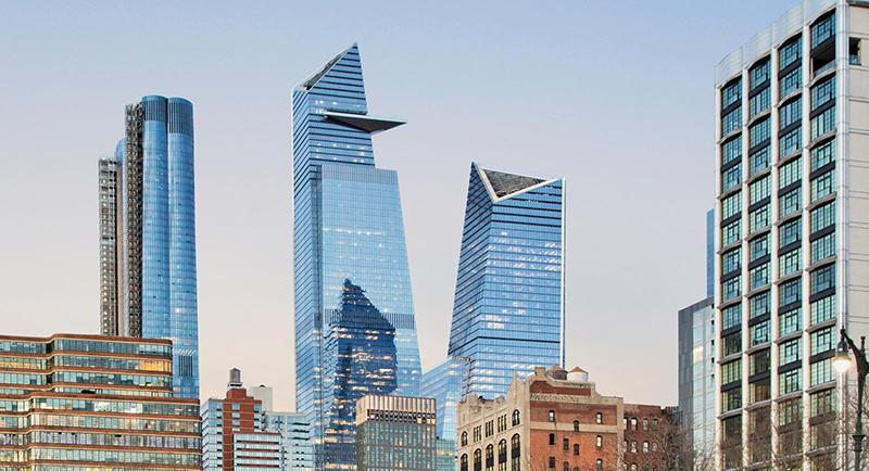 Estrutura do Hudson Yards em Nova York