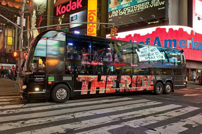 The Ride em Nova York