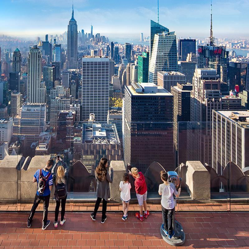 Ingressos para o Top of the Rock em Nova York
