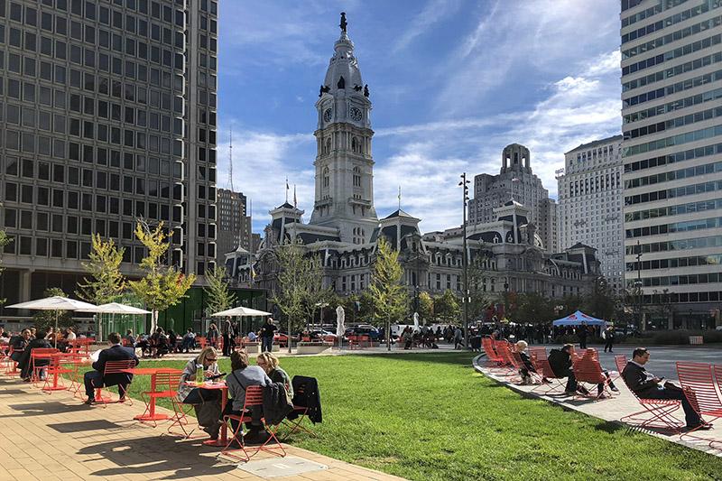 Love Park na Filadélfia