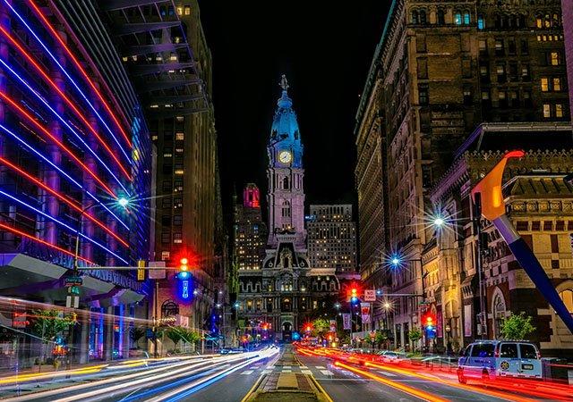 O que fazer à noite na Filadélfia