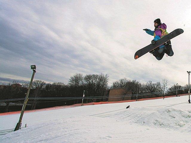 Onde esquiar perto de Chicago