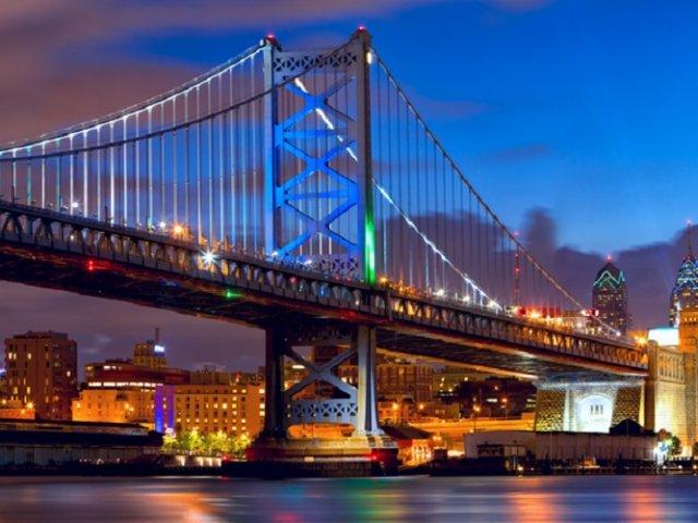Ponte Benjamin Franklin na Filadélfia