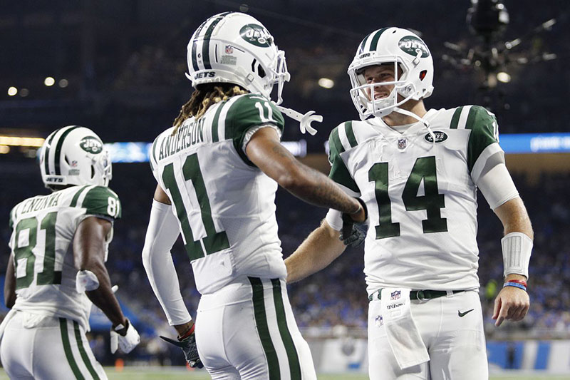 Time New York Jets