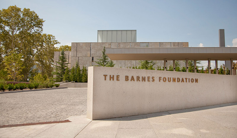 The Barnes Foundation na Filadélfia
