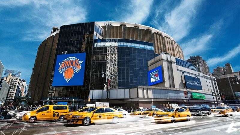 Arenas esportivas em Nova York