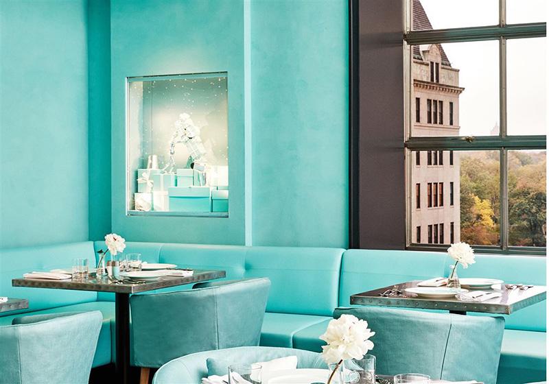 Blue Box Cafe em Nova York