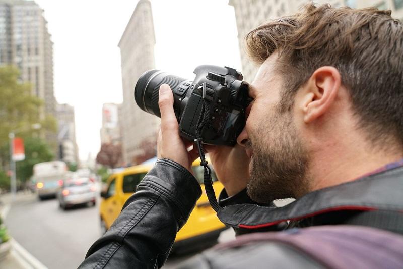 Fotografando em Nova York