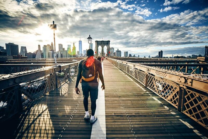 Viajando sozinho para Nova York